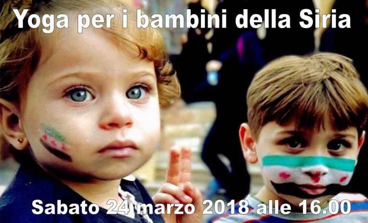 Yoga per bambini della Siria @ Busto Arsizio | Lombardia | Italia