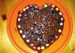 brownies -con - patata - dolce