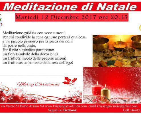 eventi yoga-meditazione-cena-natale-kriya-yoga-evolution-busto