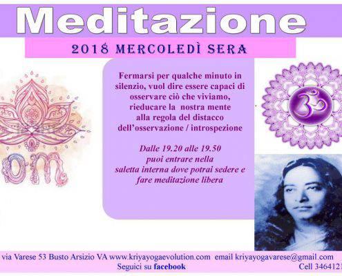 eventi yoga-meditazione-mercoledì-sera-kriya-yoga-evolution-busto