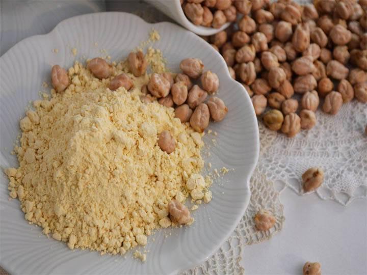 farinata di ceci-kriyayogaevolution-mina formisano-fulvio falsanito-ricette di mina-mina in cucina