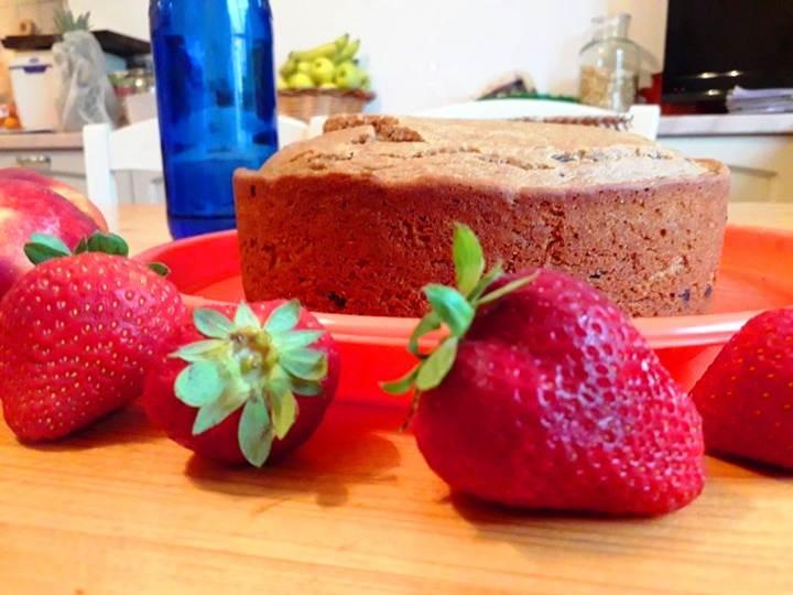 torta a colazione-ricette di mina-mina in cucina-ricette vegane-cucina yogica-mina formisano-fulvio falsanito-yoga busto-kriyayogaevolution
