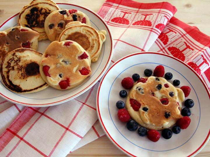 pancake-ricette di mina-mina in cucina-yogaevolution-mina formisano-fulvio falsanito-ricette yoga-cucina sana