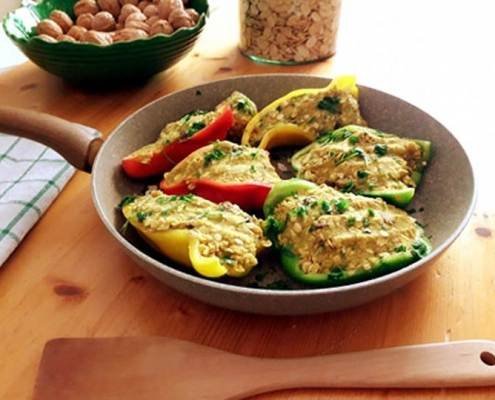 peperoni-peperoni ripieni vegan-ricette vegane-yoga busto-kriyayogaevolution-ricette di mina-mina in cucina-mina formisano