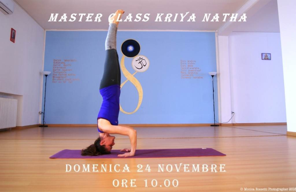 MASTER CLASS KRIYA NATHA @ Kriyayoga Evolution