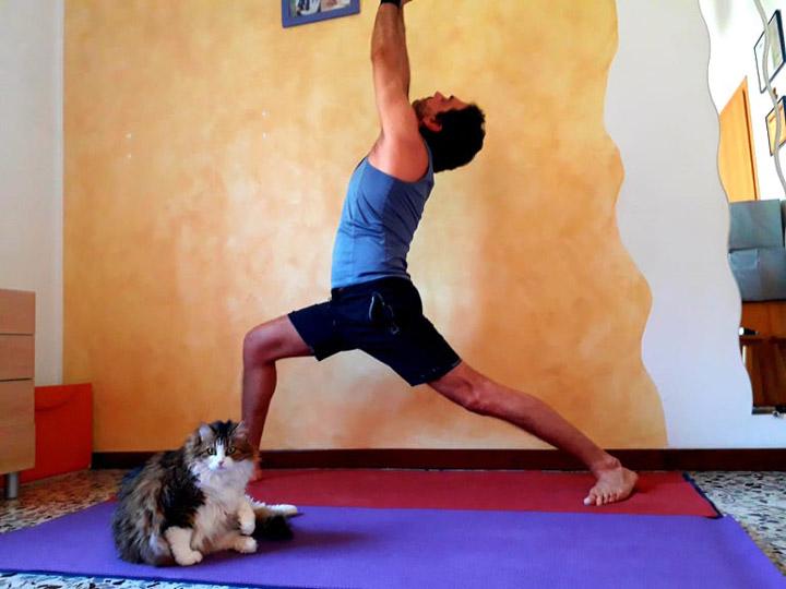 praticare a casai-yoga busto-kriyayogaevolution-mina formisano-fulvio falsanito-yoga a casa