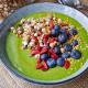 green smoothie-mina in cucina-ricette di mina-ricette yoga-ricette vegane-cucina yoga-kriyayogaevolution-yoga busto-mina formisano-frullato verde