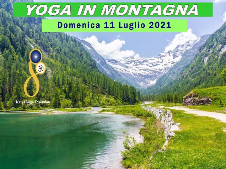 Evento Yoga in montagna lago delle fate
