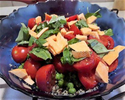 quinoa estiva-mina in cucina-ricette di mina-ricette yoga-ricette vegane-cucina yoga-kriyayogaevolution-yoga busto-mina formisano-ricette con la quinoa
